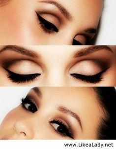 The Adele smoky eye