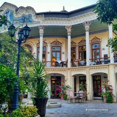 Shapouri Mansion & Garden, Shiraz, Iran (Persian: عمارت و باغ شاپوری - شیراز) Photo by: Ehsan Ehtesham
