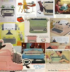 10 Pretty Electric Typewriter Ads