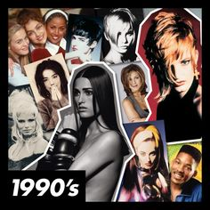 #ToniAndGuy's #90s collage #1990s #toniandguy50yrs 1990s Hair, Toni And Guy, Twelfth Night, 90s Hairstyles, 90s Grunge, 90s Fashion, Hair Inspiration, World, 90s Style