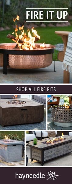 The yard or patio becomes a hot gathering spot with the perfect fire pit, bowl, or table. Rugged yet refined, our collection is forged to take the heat and look great doing it. Free shipping on orders over $49.
