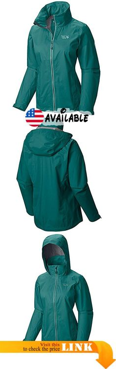 B010MIT8IY : MOUNTAIN HARDWEAR Women's Plasmic Ion Green XS. 70D nylon face fabric is tough durable and abrasion resistant. Dry.Q Evap waterproof breathable technology keeps rain out and allows sweat to escape. Evap wicking interior accelerates evaporation for more breathability and comfort.. 2.5-layer construction for light weight and packability: nylon face fabric interior Dry.Q EVAP and protective 0.5 layer for durability and next-to-skin comfort. Attached hood for