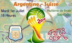 Compos probables Argentine-Suisse - http://www.actusports.fr/109915/compos-probables-argentine-suisse/
