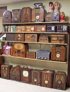 photos of antique radios - Google Search
