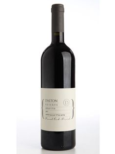 Dalton Merlot Reserve 2007: Why this merlot? It's a late-harvested merlot with a great, light fruit flavor that's well-balanced and not too overwhelming -- making it perfect for a large gathering of people with different tastes.