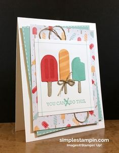 I'm back...with a super cute card! - Simple Stampin