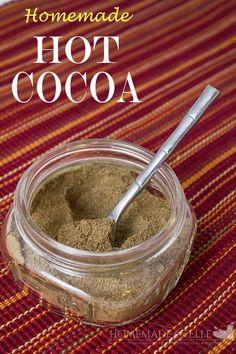 Homemade Hot Cocoa Mix - homemadeforelle.com