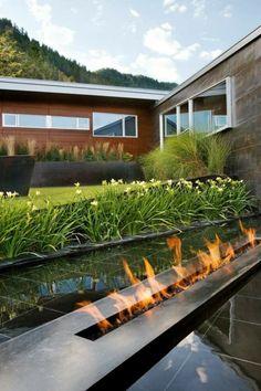 jardines minimalistas diseño modernos