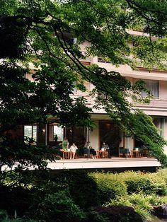 Hakone hotel Kowakien 1959|箱根ホテル小涌園 吉村順三