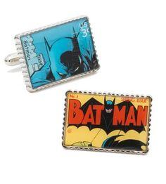 Cufflinks - Comics Collection Batman Stamps Cufflinks