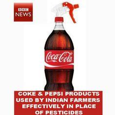 Coke , pesticides, dangers, toxic