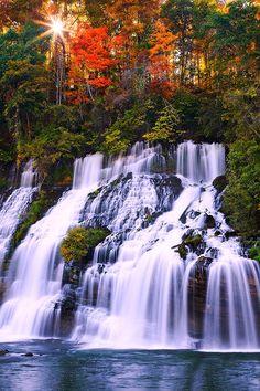 "lori-rocks: "" Rock Island State Park, Tennessee. by ravernmountain """
