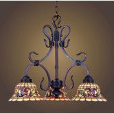 Found it at Wayfair - Tiffany Buckingham 3 Light Mini Chandelier
