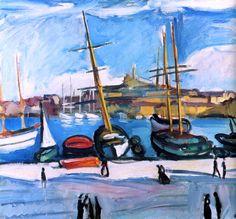 1904 Charles Camoin Le Port de Marseille