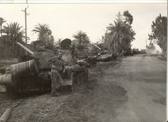 Multiple Egyptian T-54/55 tanks destroyed despite their crews fought harder than Israeli counterparts with their obsolete machines whose tanks only capable of close flanking shots same situation for Iraqi T-72 tankers in Operation Desert Storm.
