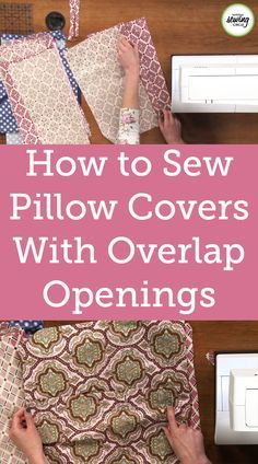100 Brilliant Projects to Upcycle Leftover Fabric Scraps - Generary Easy Sewing Projects, Sewing Projects For Beginners, Sewing Hacks, Sewing Tutorials, Sewing Crafts, Sewing Tips, Sewing Patterns Free, Free Sewing, Pillos