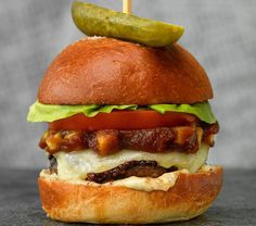 This burger is from The Nash, costs $25 and will help a local charity. Win. #burgers #burgerweek