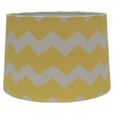 Target: Threshold™ Chevron Print Burlap Lamp Shade