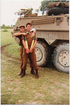 Boys can play rough. Where a machete held to your throat can be a joke. Military Life, Military Art, Military History, Brothers In Arms, Defence Force, My Land, My Heritage, Cold War, Troops