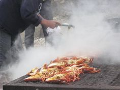 Crayfish on the braai with http://www.winewizard.co.za/wine/sauvignon-blanc/white/ken-forrester-wines-sauvignon-blanc/