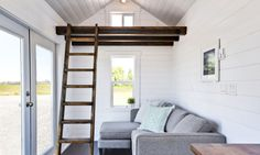 A beautiful, 204 sq ft custom home from the Mint Tiny House Company.