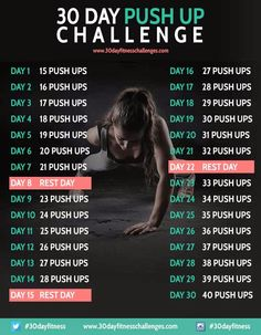 30 Day fitness challenge: Choose your challenge