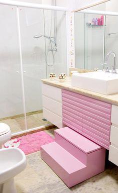 Construindo Minha Casa Clean: Banheiros Infantis - Veja ideias para meninas e meninos!