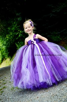 Unique handmade tutu dresses, costumes and dress up attire for your little girl. Flower Girls, Flower Girl Tutu, Flower Girl Dresses, Girls Tutu Dresses, Tutus For Girls, Little Girl Dresses, Purple Wedding, Dream Wedding, Tulle Dress