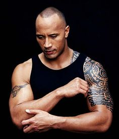"Dwayne Johnson, dit ""The Rock"""