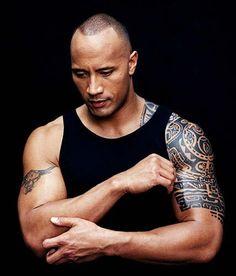 """Dwayne Johnson, dit """"The Rock"""""""