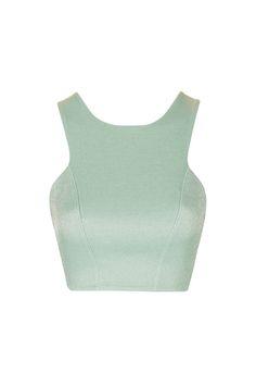 Metallic Bandage Bralet - Tops - Clothing - Topshop