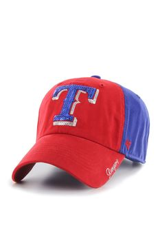 super popular bd7a7 39b90 Texas Rangers  47 Brand Womens Adjustable Hat Texas Rangers T Shirts, Texas  Rangers Hat
