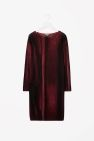 Printed merino dress
