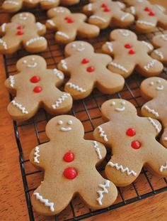 Gingerbread Cookies (and ornaments)