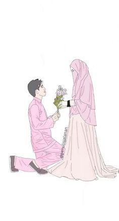 New Wedding Couple Muslim Cartoon Ideas couple cartoon New Wedding Couple Muslim Cartoon Ideas Cute Muslim Couples, Cute Couples, Couple Wallpapers, Best Facebook Profile Picture, Muslim Photos, Wedding Couple Cartoon, Cover Wattpad, Wallpaper Hp, Islam Marriage