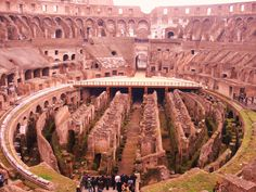 Colosseum of Rome , Italy .  So beauty