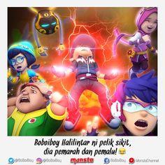 [I TOLD YOU SO!⚡] . Lari semua!! Hahaha!! 😂🏃💨💨 #OchobotMacamBiasa #DahLali #DenganPerangaiBoBoiBoy --- Run everyone!! Hahaha!! 😂🏃💨💨… Galaxy Movie, Anime Galaxy, Boboiboy Galaxy, Boboiboy Anime, Anime Angel, Anime Comics, Netflix Anime, Doraemon Wallpapers, Disney Princess Quotes
