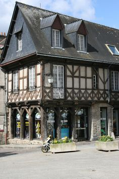 "Beautiful old house, said built ""à  pans-de-bois 