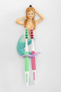 Mermaid Toothbrush Holder