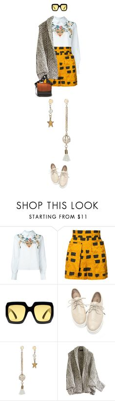 """""""eva1818"""" by evava-c on Polyvore featuring VIVETTA, Vivienne Westwood Anglomania, Gucci, WithChic and Marques'Almeida"""