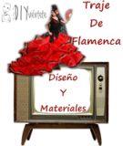 Traje de Flamenca I, Diseño y Materiales