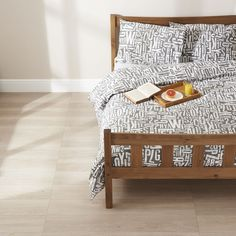 Wilko Letter Press Duvet Set Double