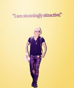The Mortal Instruments Jace quote... This is of course, how I think of myself in my mind ;)
