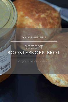Köstliches Roosterkoek Brot aus Südafrika
