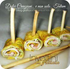 Involtini di frittata farciti | ricetta finger-food | antipasto