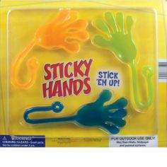 Sticky Hands #80s #toys