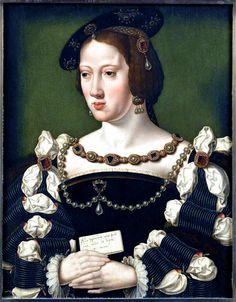 1530s Eleanor of Austria, Queen of France by Joos van Cleve