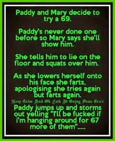 Paddy jokes