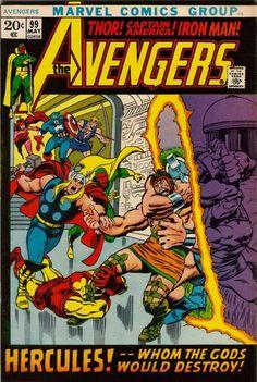 Avengers # 99 by John Buscema  Barry Windsor-Smith
