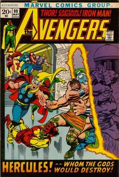 Avengers #99. The War with Olympus.  #Avengers